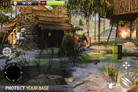 screenshot of Real Commando Secret Mission - Free Shooting Games version 7.6
