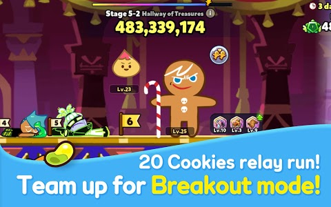 screenshot of Cookie Run: OvenBreak version 6.012