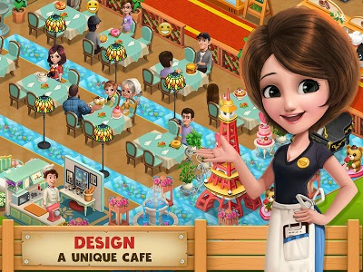 screenshot of Cooking Country - Design Cafe version 1.2.13