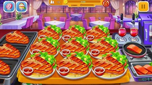 screenshot of Cooking Frenzy: A Crazy Chef in Restaurant Games version 1.0.25