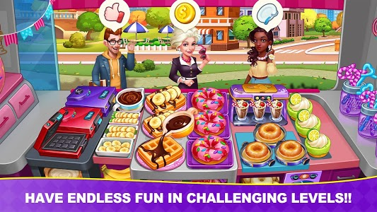 screenshot of Cooking Frenzy: Madness Crazy Chef Cooking Games version 1.0.17