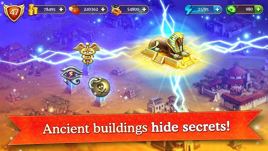 screenshot of Cradle of Empires Match-3 Game version 6.0.0