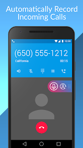 screenshot of Cube Call Recorder ACR version 2.3.159