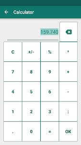 screenshot of Currency Converter version Varies with device
