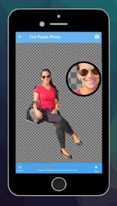 screenshot of Cut and Paste photos version 1.98