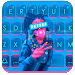 Cyberpunk Bubble Gum Keyboard Theme
