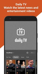 screenshot of Dailyhunt (Newshunt) - Latest News, LIVE Cricket version Varies with device