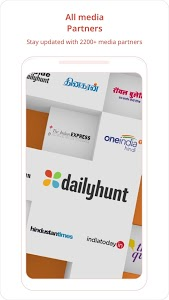 screenshot of Dailyhunt (Newshunt)-Election,Cricket- News, Video version Varies with device