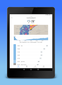 screenshot of Dark Sky - Hyperlocal Weather version Varies with device