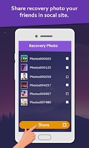 screenshot of Deleted Photo: Recovery & Restore version 1.7