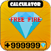 Download Diamond\ud83d\udc8eCalculator for Free Fire Free 1.01.1171d APK