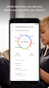 screenshot of Digital Wellbeing version 1.0.295707668