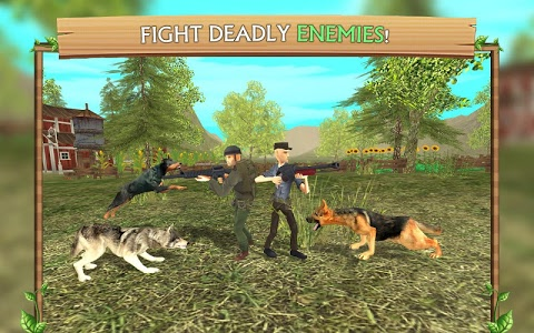 screenshot of Dog Sim Online version 2.0