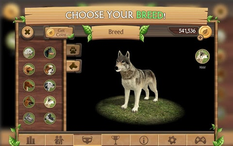screenshot of Dog Sim Online version 3.4