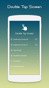 screenshot of Double Tap On/Off version 4.9