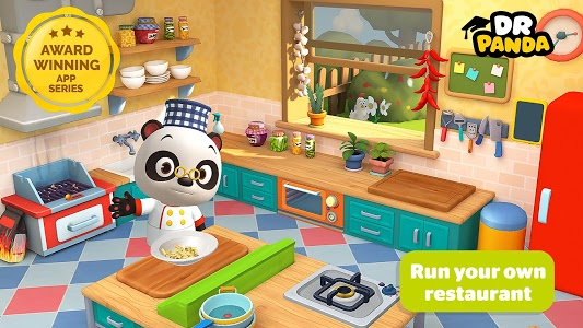screenshot of Dr. Panda Restaurant 3 version 1.9.0