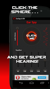 screenshot of Ear Spy: Super Hearing version 1.4.5