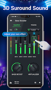 screenshot of Equalizer -- Bass Booster & Volume EQ &Virtualizer version 1.3.6