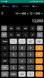 screenshot of All-in-one Calculator Free version 4.3.1