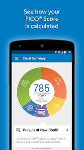 screenshot of Experian Credit Tracker version 1.4.3