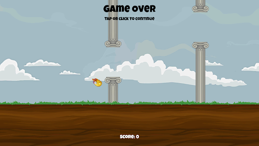 screenshot of FLAPPYBOOI version 1.0