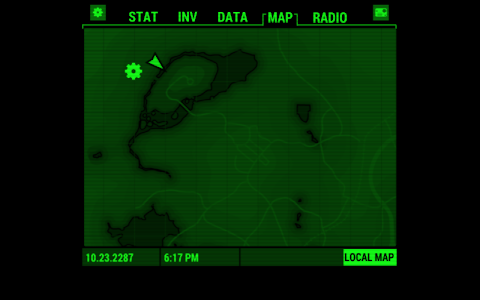 screenshot of Fallout Pip-Boy version 1.2