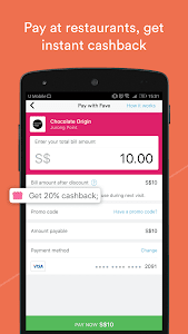 screenshot of Fave - Deals & Cashback version 2.31.0