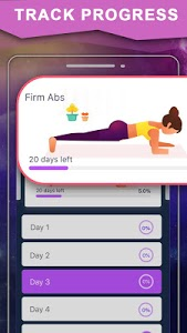 screenshot of Female Flat Stomach Workout version 1.0.5