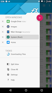 screenshot of FX File Explorer: The file manager with privacy version 7.2.2.2