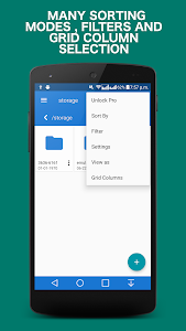 screenshot of File Manager 2018 version 1.3.0