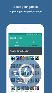 screenshot of Finland Game Booster - Boost Mobile Phone version 1.0
