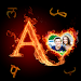 Download Fire Text Photo Frame – Valentine's Photo Editor 1.27 APK