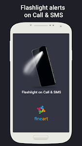 screenshot of Flash on Call and SMS version 5.1.6