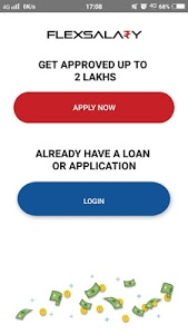 screenshot of FlexSalary - Salary Advance & Instant Cash Loans version 2.0.5