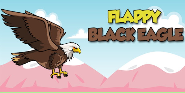 screenshot of Fly Black Eagle version 1.1