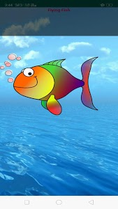 screenshot of Flying Fish - The Flying game version 1.0