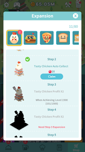 screenshot of Foodaholic Mayor version 2.0
