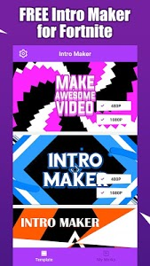 screenshot of Fort Intro Maker for YouTube - make Fortnite intro version 1.2.6