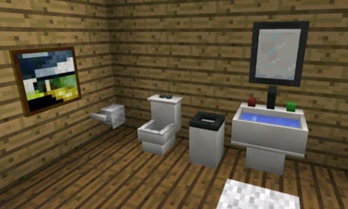 screenshot of Furniture Mod for MCPE version 5