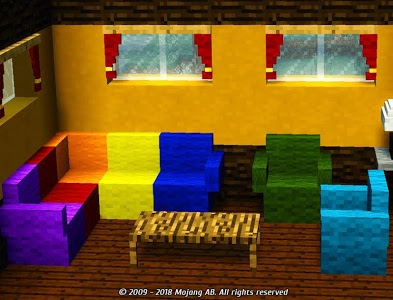 screenshot of Furniture for MCPE version v1.7.76
