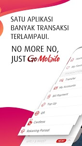 screenshot of GO MOBILE by CIMB NIAGA version 2.5.4
