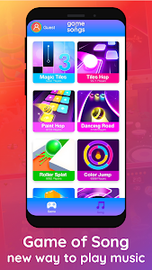 screenshot of Game of Songs - Free Music Games version 1.1.11
