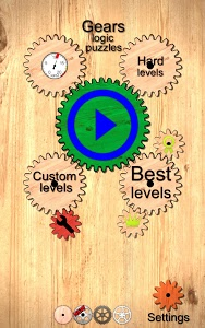 screenshot of Gears logic puzzles version 1.81