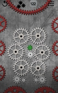 screenshot of Gears logic puzzle version 1.56