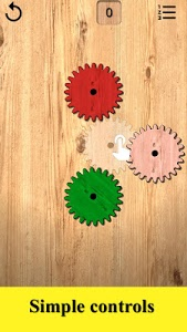 screenshot of Gears logic puzzles version 1.78
