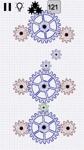screenshot of Gears logic puzzles version 1.150