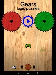screenshot of Gears logic puzzles version 1.42
