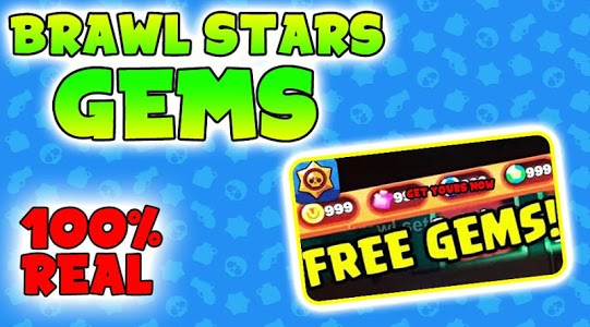 screenshot of Get Gems For Brawl Stars Now - Gems Free Tips 2019 version 1.0