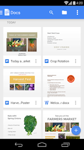 screenshot of Google Docs version 1.4.192.11.32