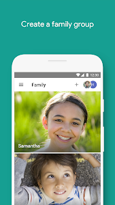 screenshot of Google Family Link version Varies with device